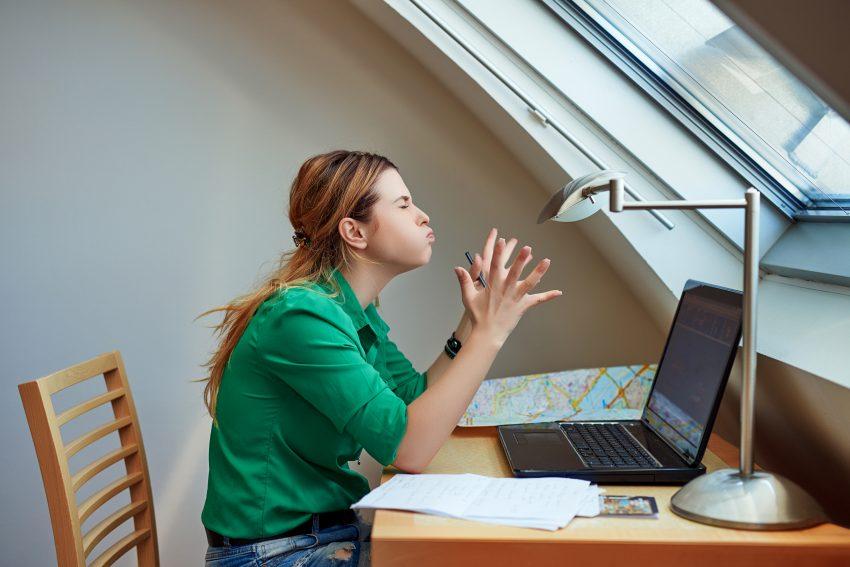 stres praca kobieta