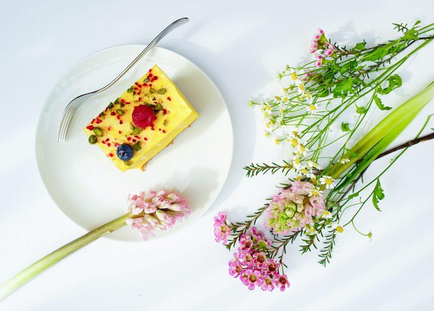 ciasto z pistacjami