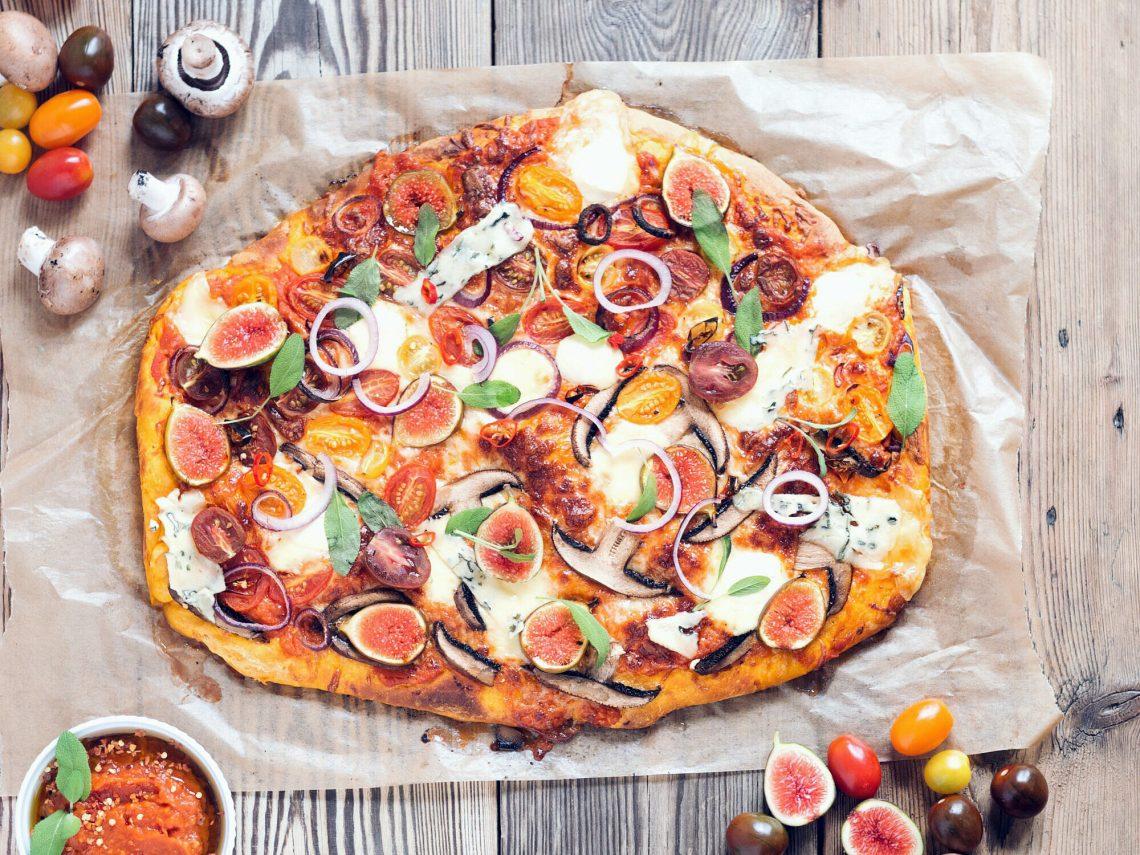 Pizza z dynią