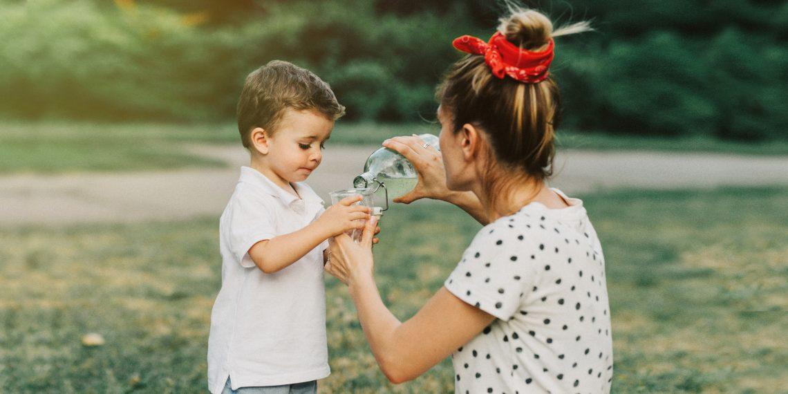 woda dzieci