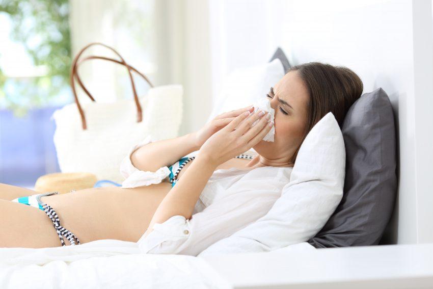 urlop przeziębienie