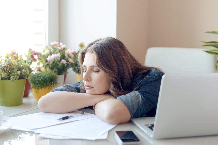 zmęczenie kobieta
