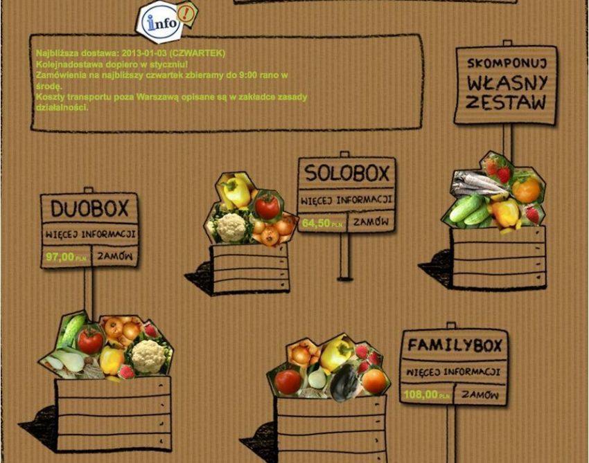 Świeże warzywa z dostawą do domu