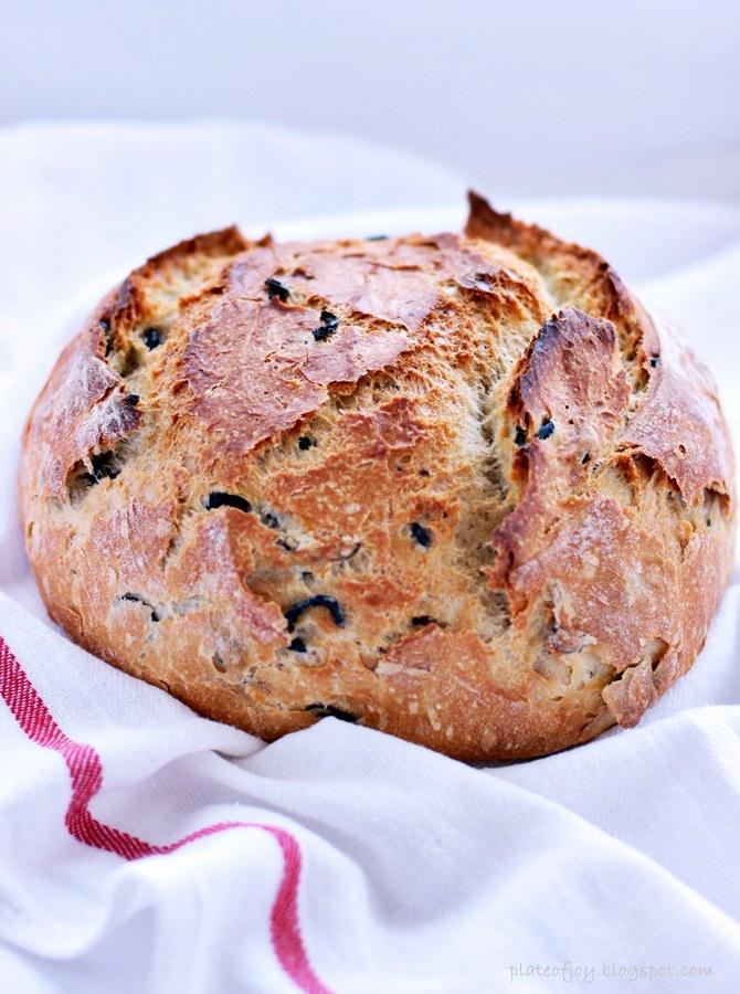 przepis na domowy chleb_ plate of joy