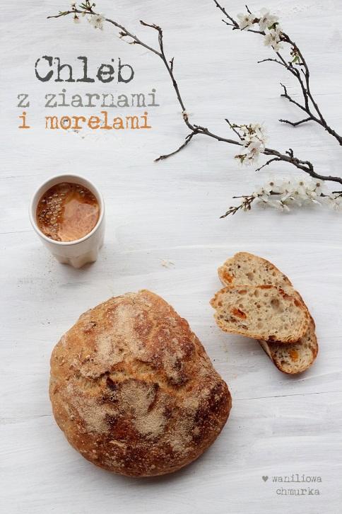 przepis na chleb z morelami_waniliowa chmurka