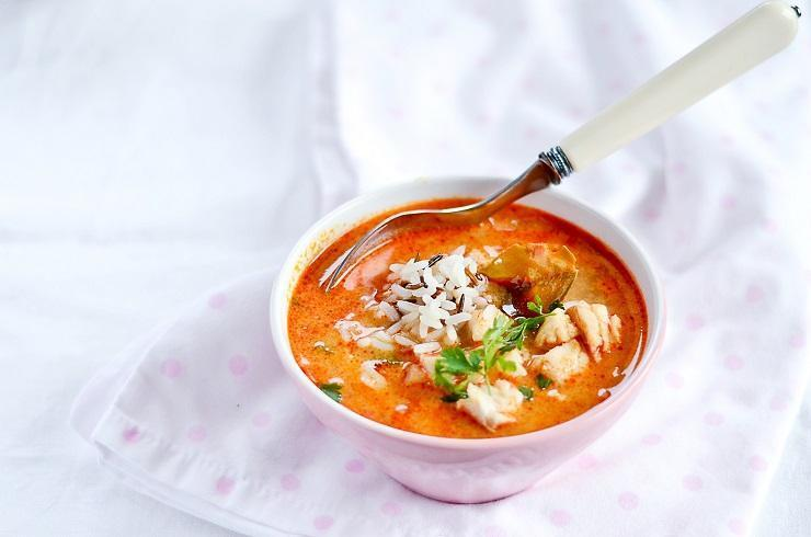 Zupa rybna w tajskiej odsłonie