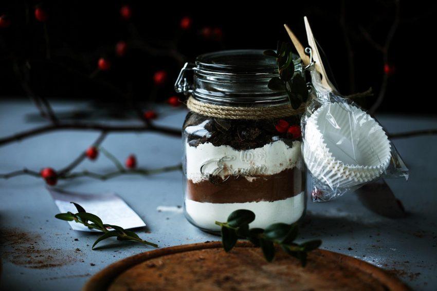 Jadalne prezenty: gwiazdkowe muffiny czekoladowe