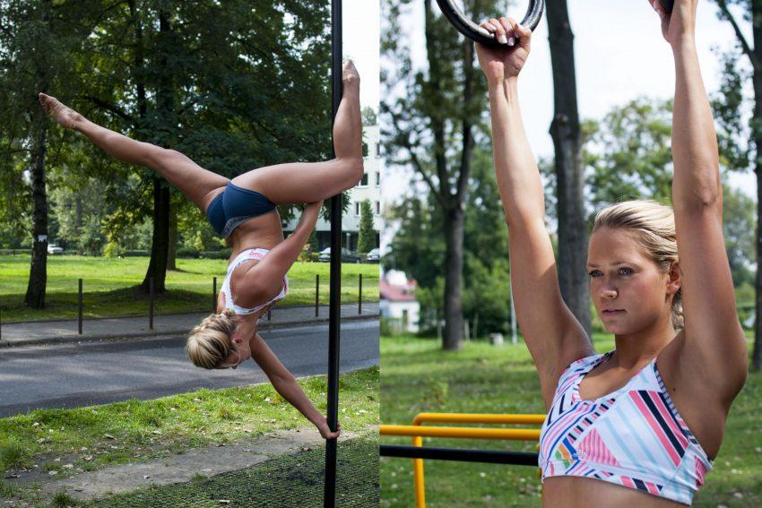 Poledancerki