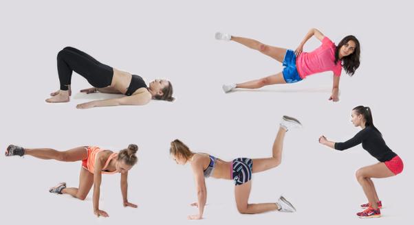 5 fit dziewczyn – 5 najlepszych ćwiczeń na pośladki