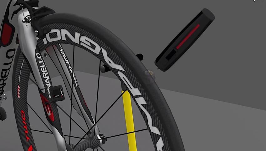 Patchnride: napraw dziurę w rowerowej oponie
