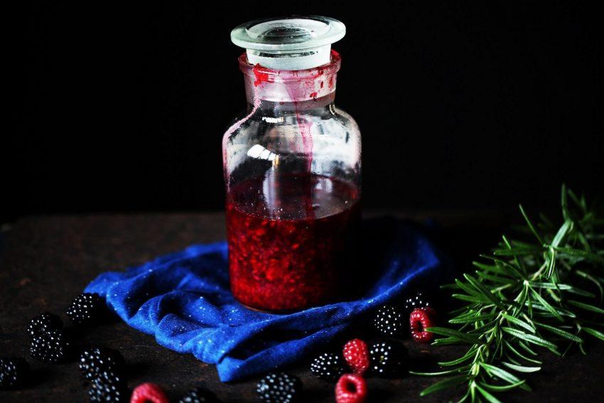 Wek na przeziębienie: syrop z malin