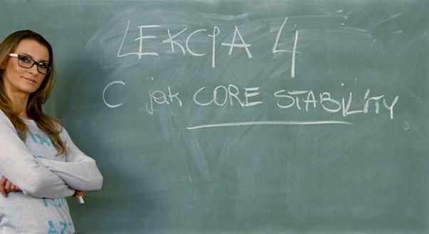 Ćwicz z Kasią Bigos: ćwiczenia na core