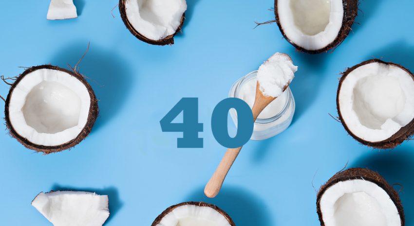 40 pielęgnacyjnych zastosowań oleju kokosowego