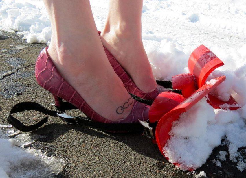 Pług na but