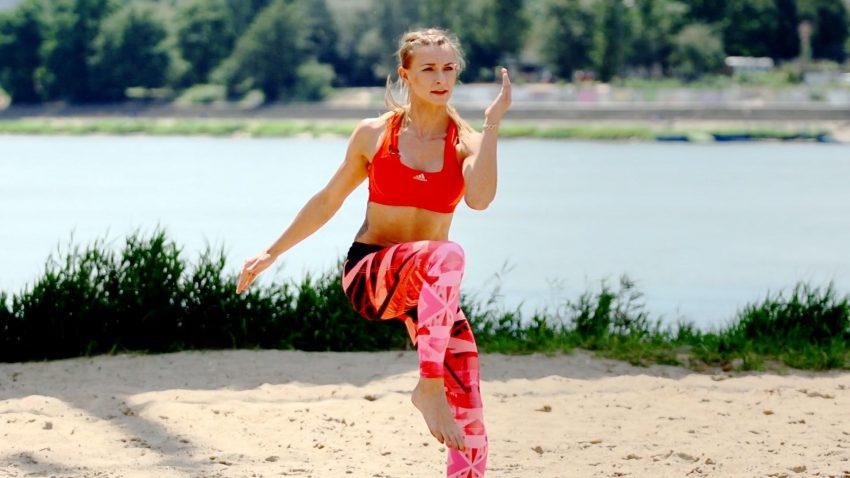 Ćwicz na plaży!