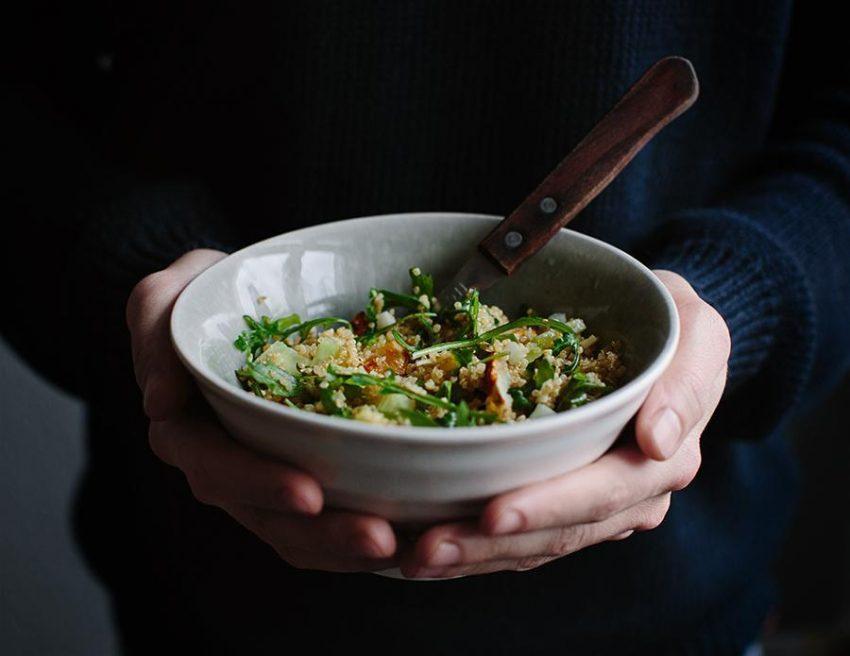 Superduet: topinambur z komosą ryżową