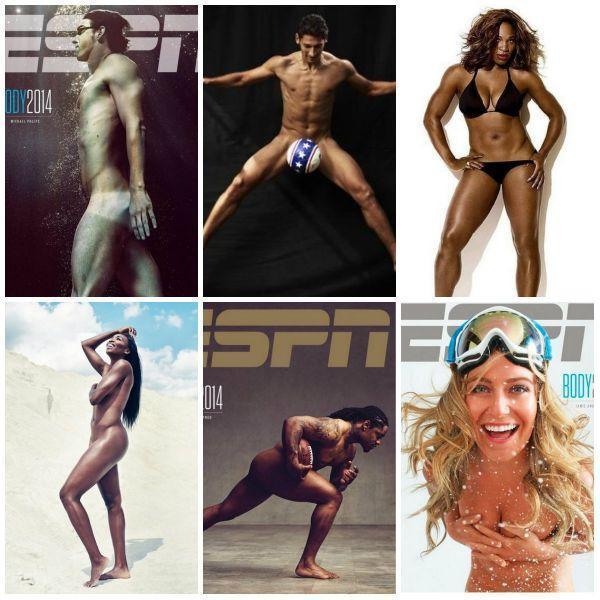 Nagie ciała sportowców