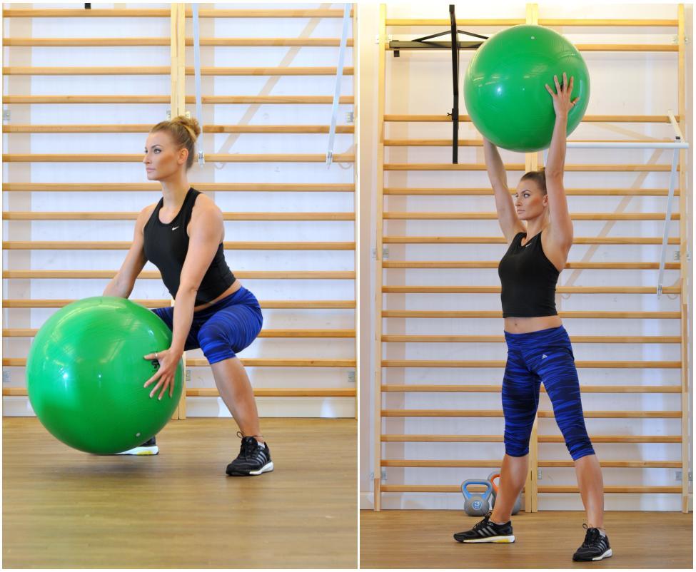 Da się schudnąć na ćwiczeniach z piłką