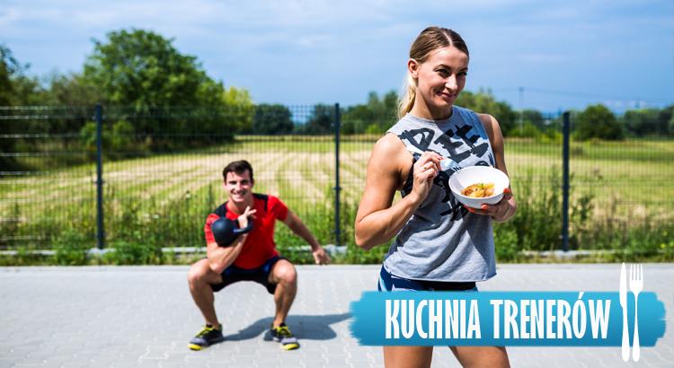 Co zjeść po treningu? Ryż z owocami