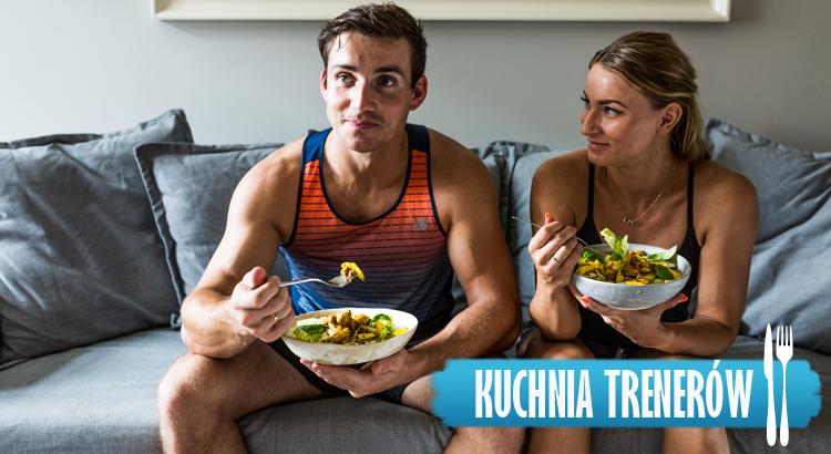 Co zjeść po treningu? Sałatka z mango i melonem