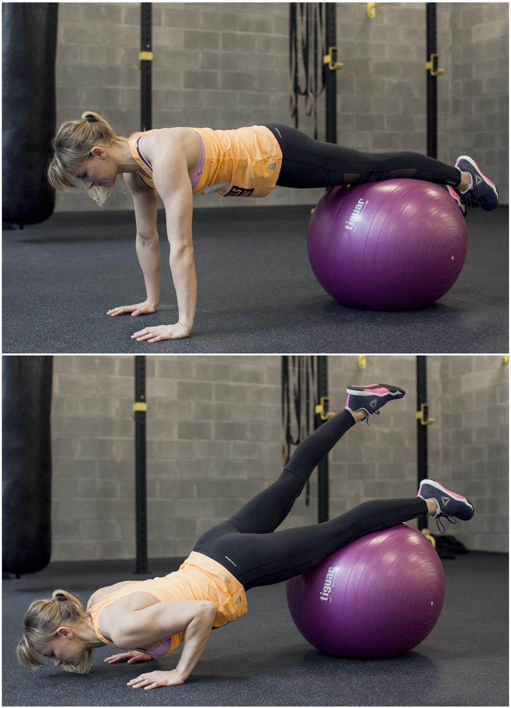 cwiczenia na core