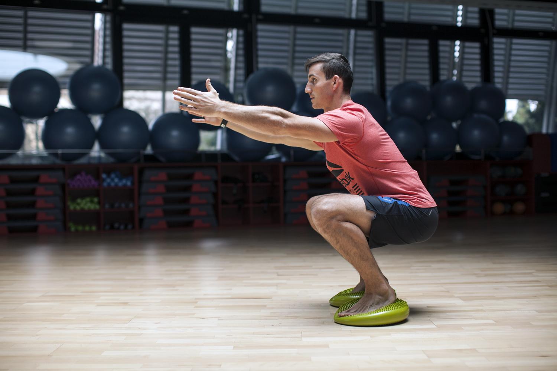 trening równowagi i stabilizacji