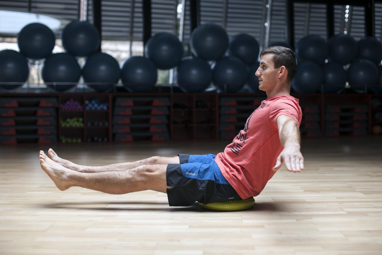 trening stabilzacji ciała