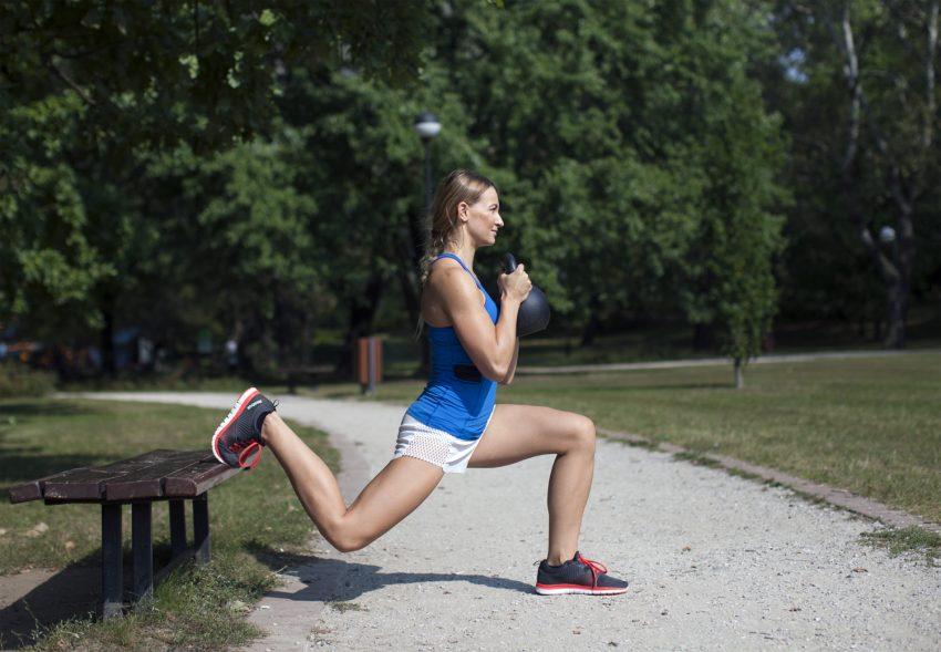 Ćwiczenia wszech czasów – przysiad bułgarski