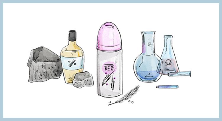 Czego nie powinien zawierać dezodorant?
