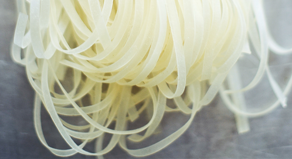 Festiwal makaronów: makaron ryżowy