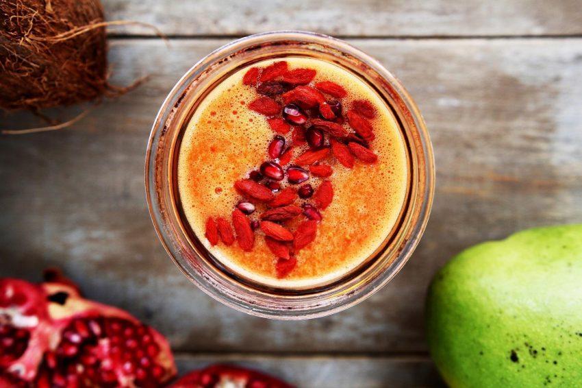 Miksujemy superfoods! Koktajl z jagodami goji