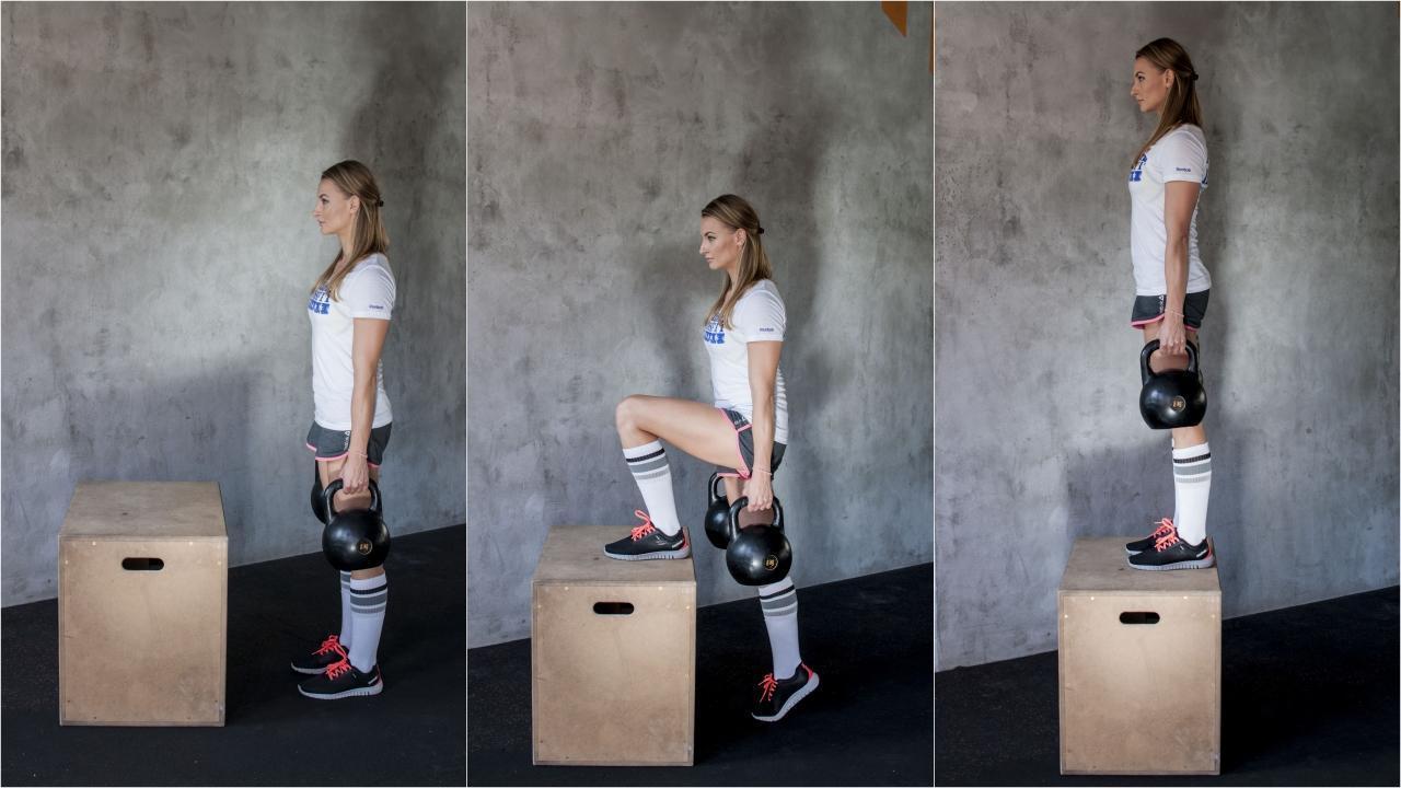 Ćwiczenia na nogi z obciążeniem