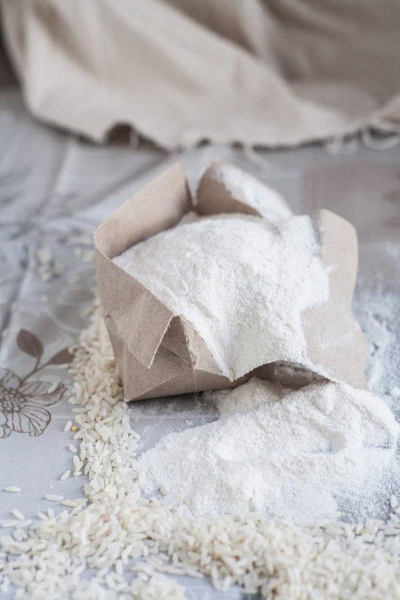 Akcja bez glutenu: mąka ryżowa