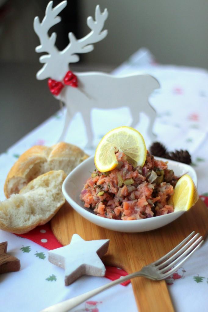 12 potraw wigilijnych_tatar z łososia