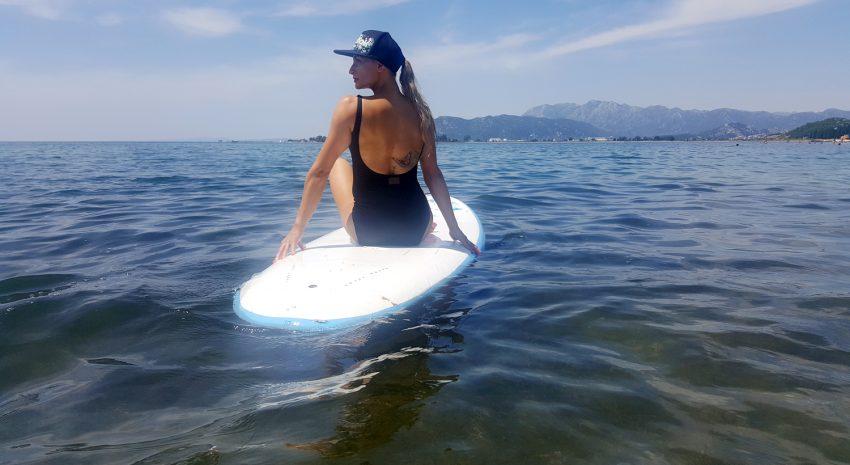 SUP - trening na wodzie