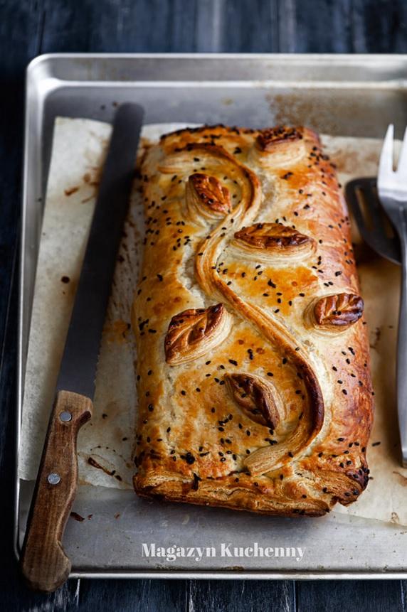 12 potraw wigilijnych_kulebiak z lososiem
