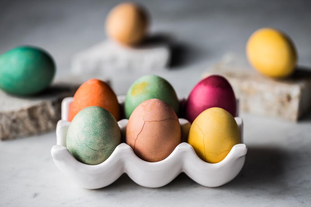 Kolorowe Jajka Naturalnie Sięgnij Po Barwniki Które Masz