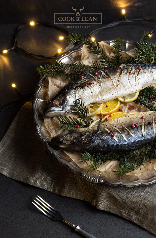 12 potraw wigilijnych_pieczona makrela