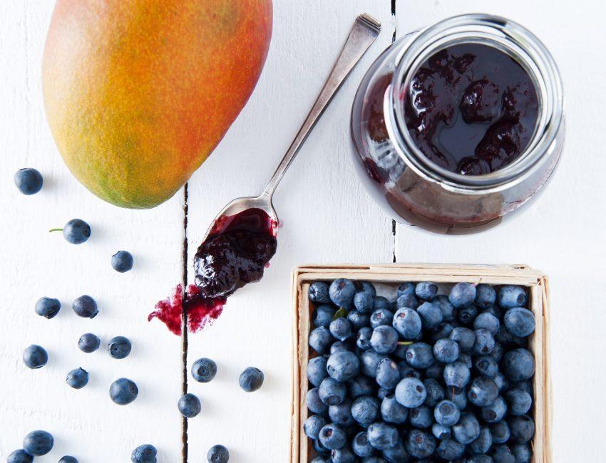 Letni dżem z jagód. Bez cukru!