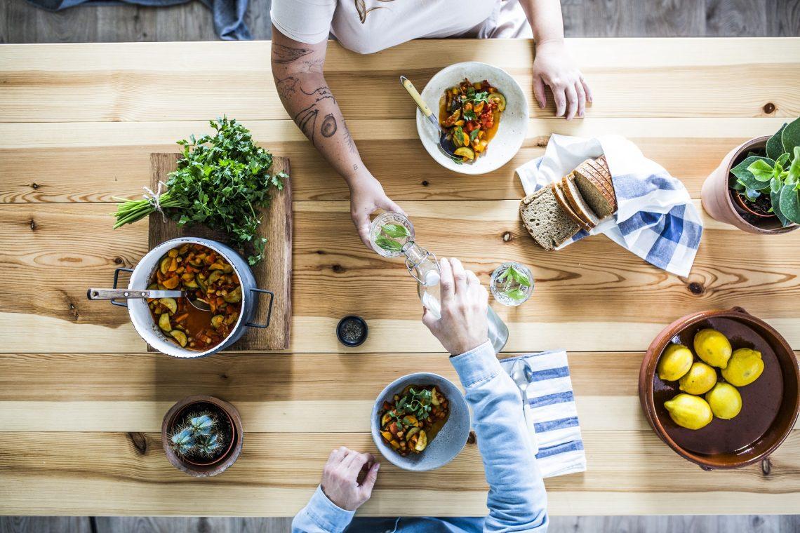 Zdrowa kolacja na szybko: gulasz