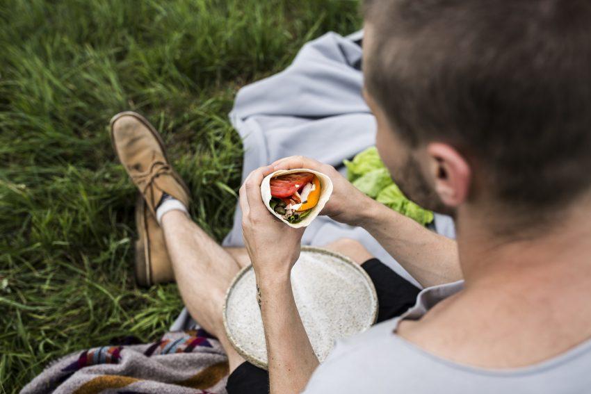 Zdrowa kolacja na szybko: tortilla z tuńczykiem