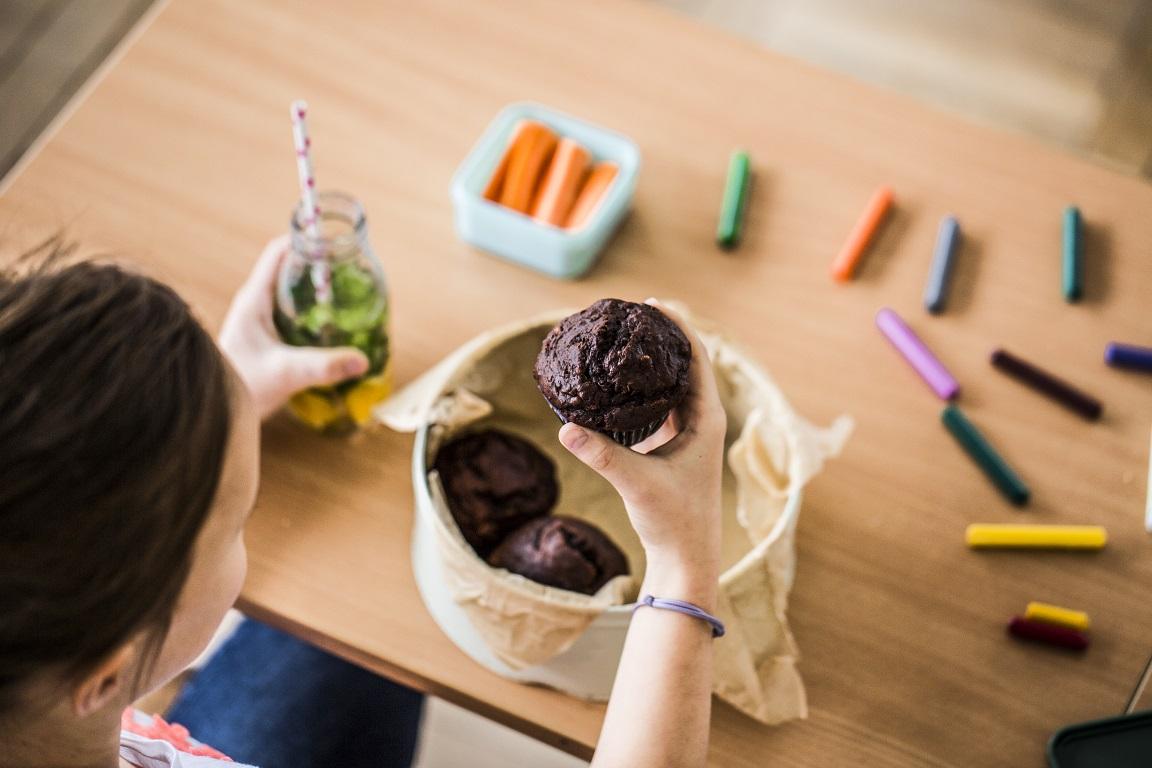 czekoladowe muffinki na drugie sniadanie