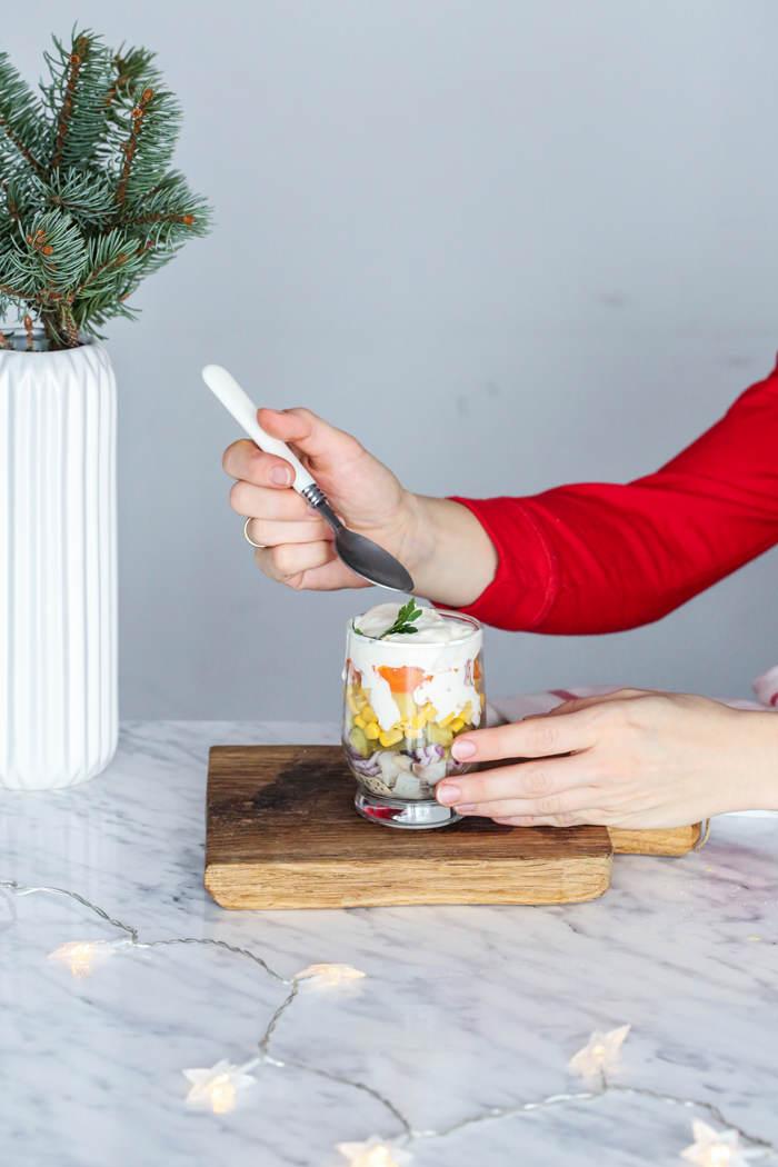 przepisy na sałatki wigilijne