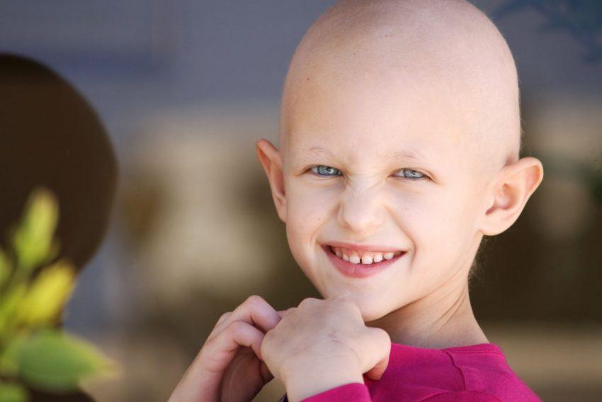 Łysa dziewczynka to objaw białaczki