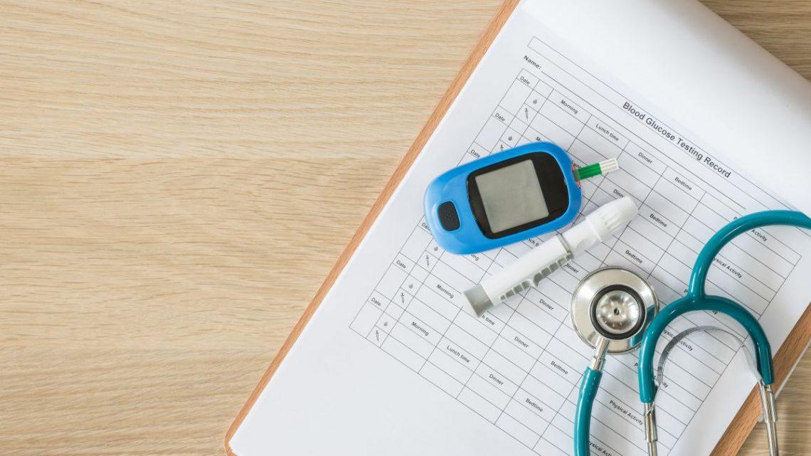Tabelka z normami dla chorych na cukrzycę typu 2