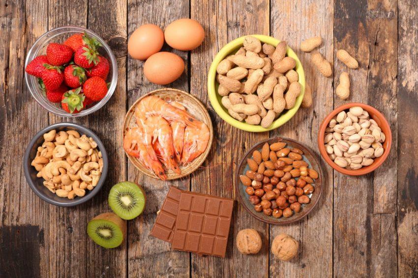 Produkty, które mogą wywołać alergie pokarmowe u dorosłych