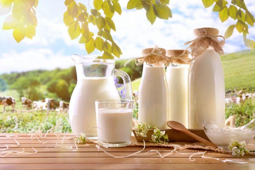 Mleko w różnych opakowaniach