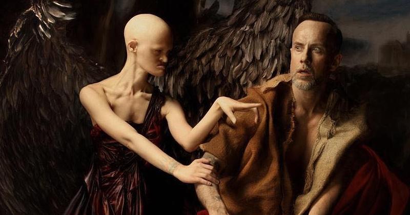 Gaydos i Nergal w sesji
