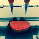 wegański stek wydrukowany w drukarce 3D