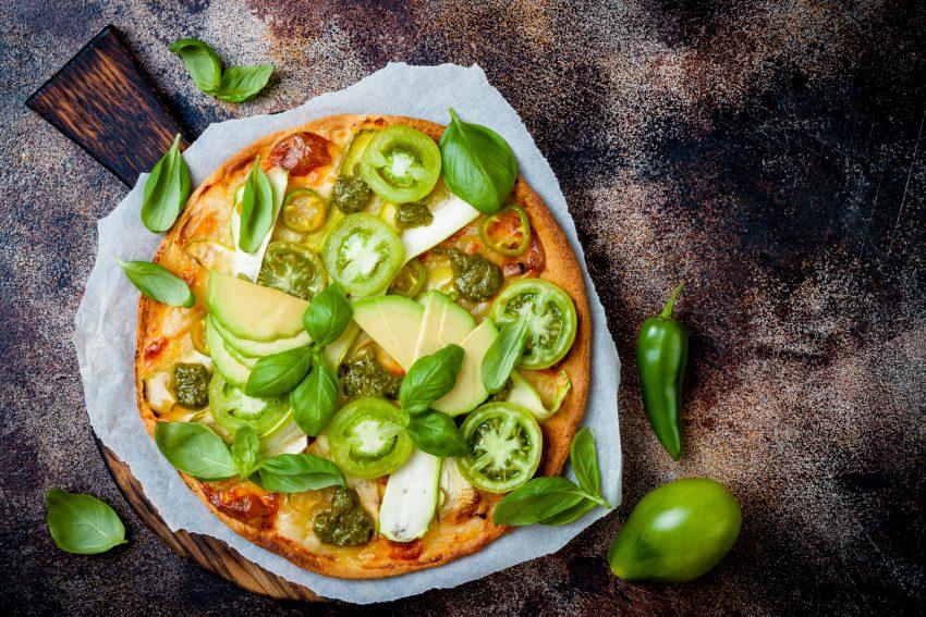pizza z awokado